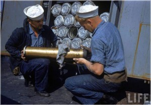 Sailors Working