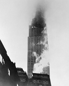 B-25 crashes into Empire State Building in 1945.