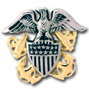 Navy Officer Crest